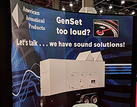 American Acoustical Products Booth