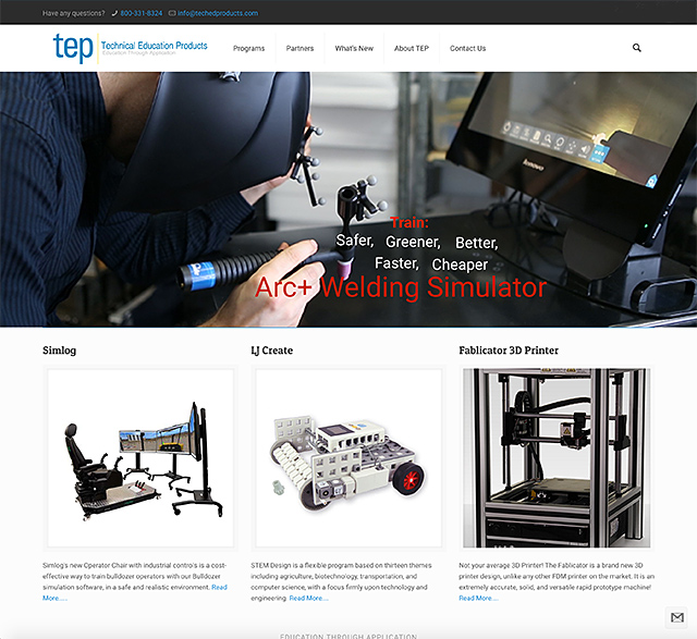 Technical Education Products Website