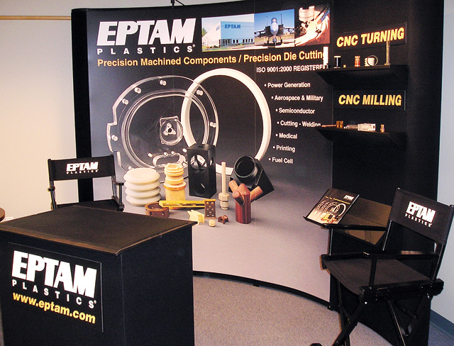 Trade Show Booth EPTAM Plastics