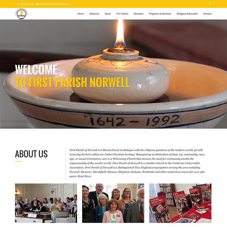 First Parish of Norwell Church Website